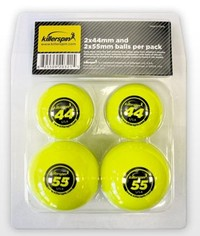 Killerspin 44mm ping pong balls