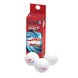 Killerspin Champion 3-Star ping pong balls