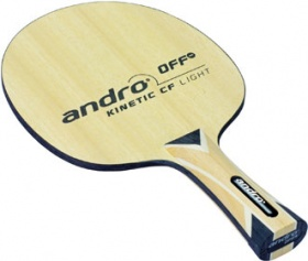 Andro Kinetic CF Light OFF- ping pong blade