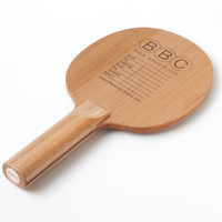 BBC Three-ply Cypress ping pong blade
