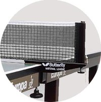 Butterfly National League ping pong net