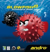 Andro Blowfish+ ping pong pips