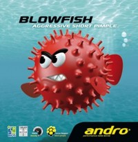 Andro Blowfish ping pong pips