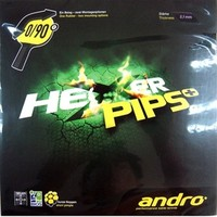 Andro Hexer Pips+ ping pong pips