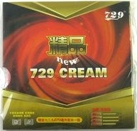 Friendship/729 New Cream ping pong rubber