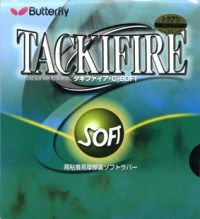 Butterfly Tackifire C Soft ping pong rubber