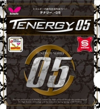 Butterfly Tenergy 05 ping pong rubber
