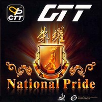 CTT National Pride ping pong rubber