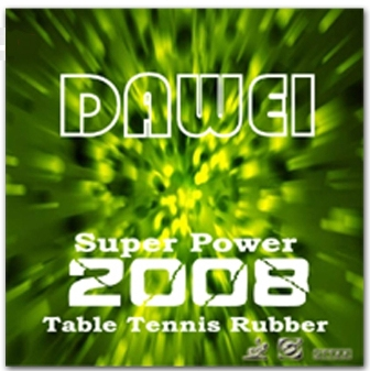 Dawei 2008 (Super Power) ping pong rubber
