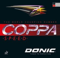 Donic Coppa Speed ping pong rubber