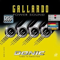 Donic Gallardo Power Sound ping pong rubber