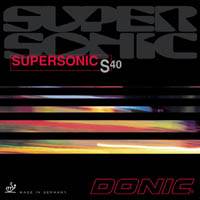 Donic Supersonic S40 ping pong rubber