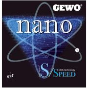 Gewo Nano S Speed ping pong rubber