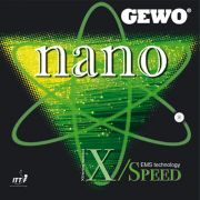 Gewo Nano X-Speed ping pong rubber
