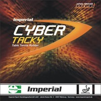 Imperial Cyber Tacky Japan Medium ping pong rubber