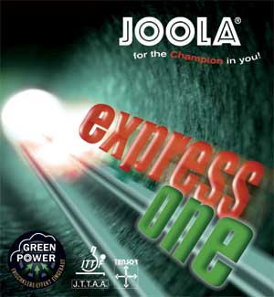 JOOLA Express One ping pong rubber