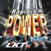 LKT Rapid Power ping pong rubber