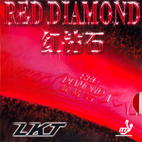 LKT Red Diamond (Golden Cake Sponge) ping pong rubber