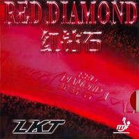 LKT Red Diamond ping pong rubber
