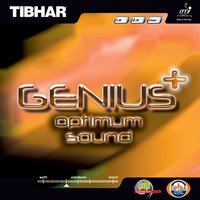 Tibhar Genius+ Optimum Sound ping pong rubber