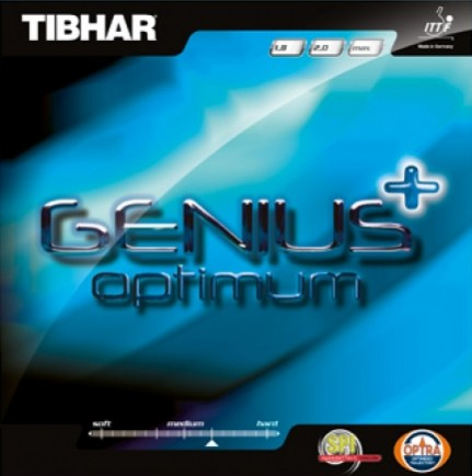 Tibhar Genius+ Optimum ping pong rubber
