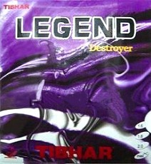 Tibhar Legend Destroyer ping pong rubber