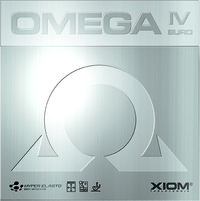 Xiom Omega IV Europe ping pong rubber