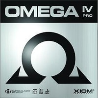 Xiom Omega IV Pro ping pong rubber