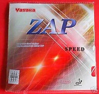 Yasaka Zap Speed ping pong rubber