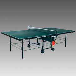 Butterfly Outdoor Playback Rollaway ping pong table