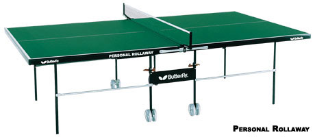 Butterfly Personal Rollaway ping pong table