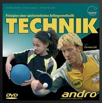 Andro Technik ping pong trainingdvd