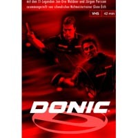 Donic Techniques, Tactics, Tricks - Volume 2 ping pong trainingdvd