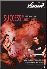 Killerspin Success in Table Tennis - 1st Edition ping pong trainingdvd