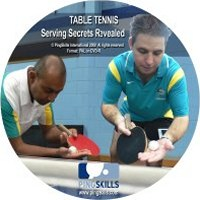 PingSkills Serving Secrets Revealed ping pong trainingdvd