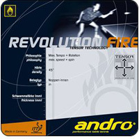Andro Revolution Fire Rubber