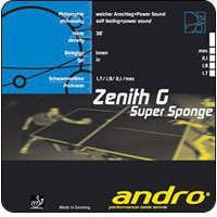 Andro Zenith G Rubber