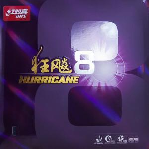 DHS Hurricane 8 Hard Rubber