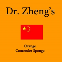 Dr. Zheng Contender (Orange) Sponge