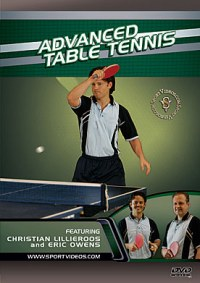 Sport Videos Advanced Table Tennis Training DVD